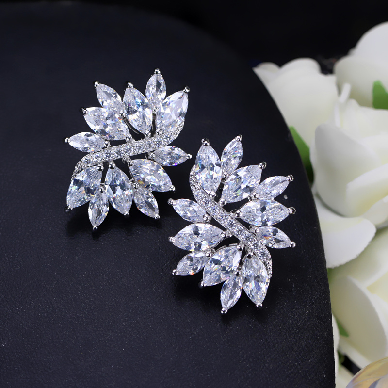 CWWZircons 2018 Новий Модний сріблястий - Модні прикраси - фото 5