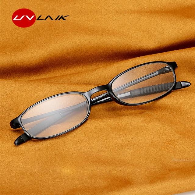 TR90 Reading Glasses Men Women Ultralight Toughness Anti Fatigue TR90 Frame Unbreakable Reading Glasses Presbyopic Eyeglasses