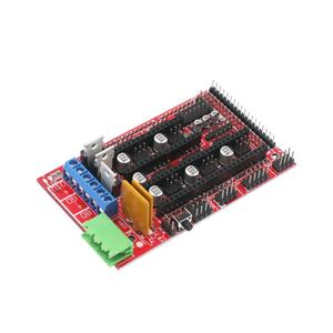 Image 4 - CNC 3D Printer Kit with Mega 2560 Board,RAMPS 1.4,DRV8825,LCD 12864,Heatbed MK2b for Arduino