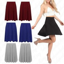 Women Fashion Summer tutu skirt Solid Pleated Skirts Sexy High Waist Mini Short Skirts Plus Size S-2XL jupe plissee femme 50*(China)