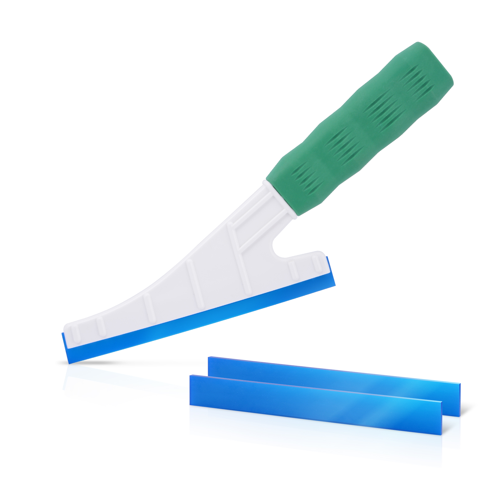 FOSHIO Windscreen Wipers Handled Windshield Rubber Squeegee Window Cleaner Glass Car Cleaning Tool Carbon Fiber Vinyl Wrap Tools
