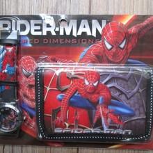 1pcs Hot sale! Wholesale New Lot Spiderman sets cartoon kids part Set w