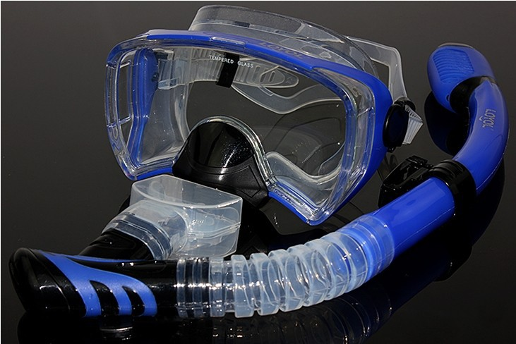 High-grade 270 degrees Diving Masks Breathing tube snorkel suits Swimming & Diving Snorkeling equipment supplies Free shipping high grade 270 degrees diving masks breathing tube snorkel suits swimming