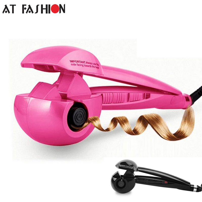 Good Quality 110-240V Automatic Hair Curler Professional hair styling Tools Pro Electric Wave hair curling iron EU US Plug