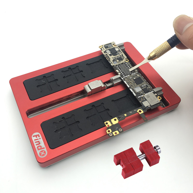 PCB Holder Circuit Board Jig Fixture Work Station for iPhone 7 Plus 6S 6 5 5S Logic Board IC Chip Repair Tools newest circuit board pcb holder jig fixture work station for iphone 8 7 6sp 5s logic board a8 a9 a10 chip repair tool