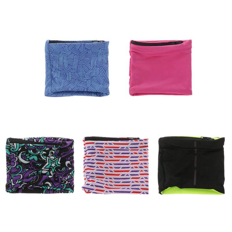 Unisex Zipper Workout Wristband Pouch Sports Wrist Pocket Wallet Safe Sport BagUnisex Zipper Workout Wristband Pouch Sports Wrist Pocket Wallet Safe Sport Bag