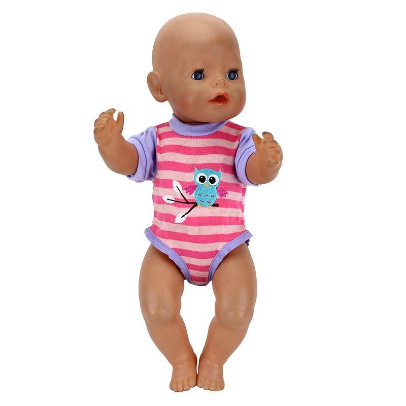 1 шт. Мода Платье Одежда Для 43 см Zapf Кукла 17 Дюймов Возрождается Младенцев Одежда