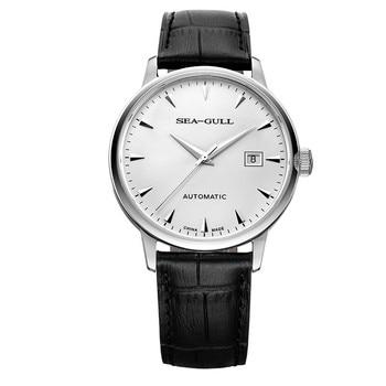 Fashion men's automatic mechanical watch belt waterproof simple casual men's watch 819.613