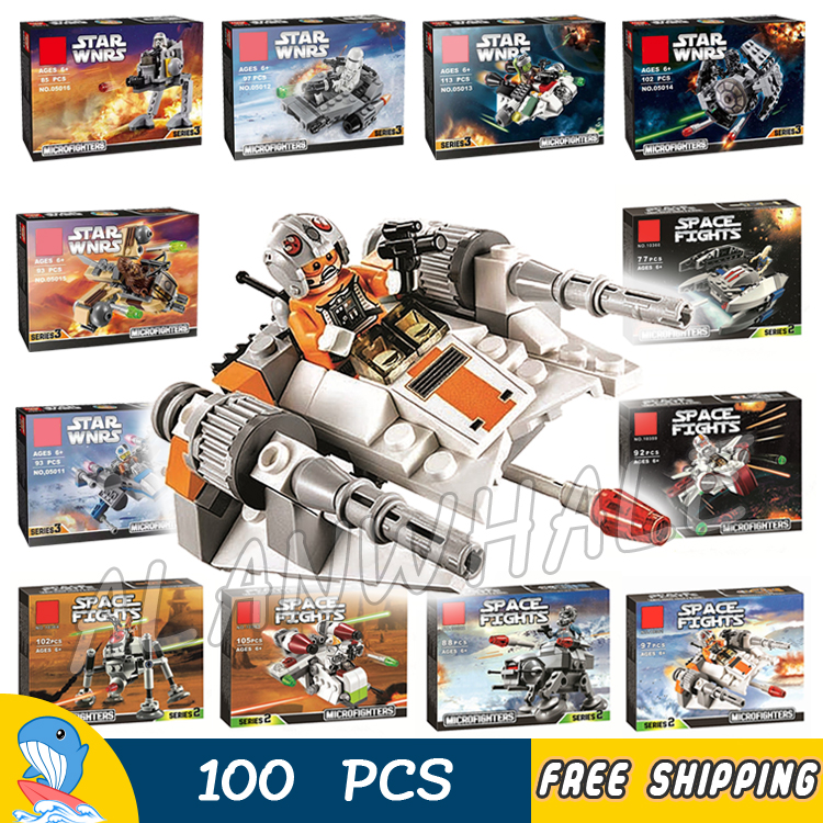 12 Types New Star Wars The Avengers Starfighter Building Blocks Sets Model Children Toys Bricks Gifts Kit Compatible With lego lepin 02012 city deepwater exploration vessel 60095 building blocks policeman toys children compatible with lego gift kid sets