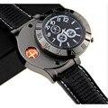 Часы мужские  модные  беспламенные  ветрозащитные  с зарядкой от USB  кварцевые наручные часы