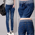 New Arrive Women Jeans 5XL High Waist Elastic Style 4xl Denim Material Make Shape Look Skinny  Add Fertilizer Increased jeans