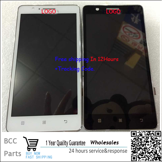 A++ quality original guarantee Black/white For lenovo a536 LCD display+Touch screen Panel Digitizer with frame in stock!