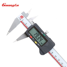 "Discount! GUANGLU Pointed Digital Caliper 0-150mm/6"" 0.01mm/inch Electronic Stainless Steel Vernier Calipers Measuring Tools"