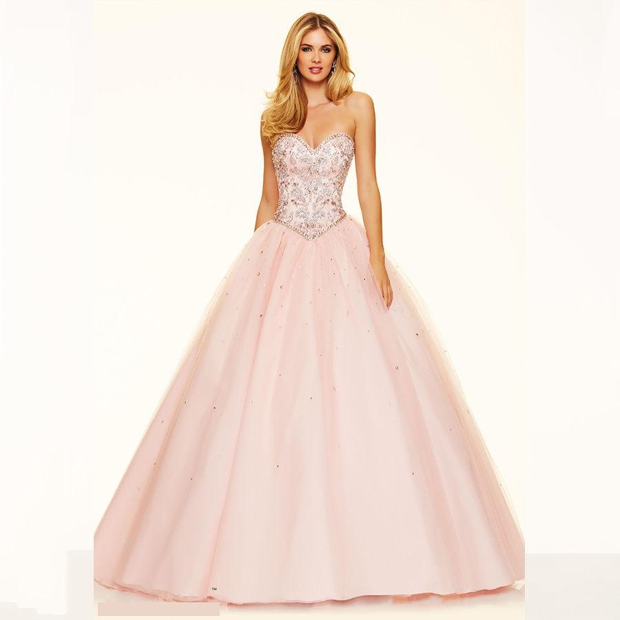 Online Buy Wholesale pink puffy prom dress from China pink puffy ...