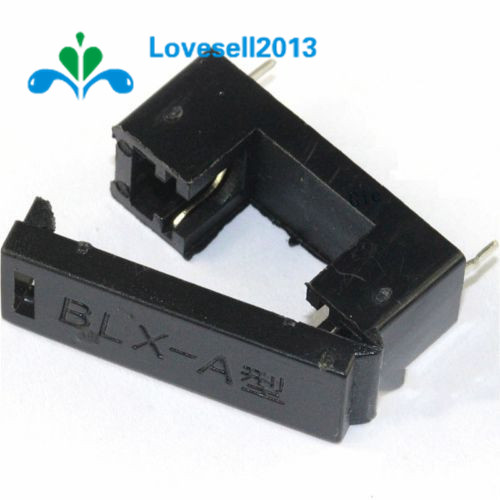 50PCS BLX-A type PCB Mount FUSE HOLDER 5MM X 20MM 15A//125v SOLDER HOLDERS