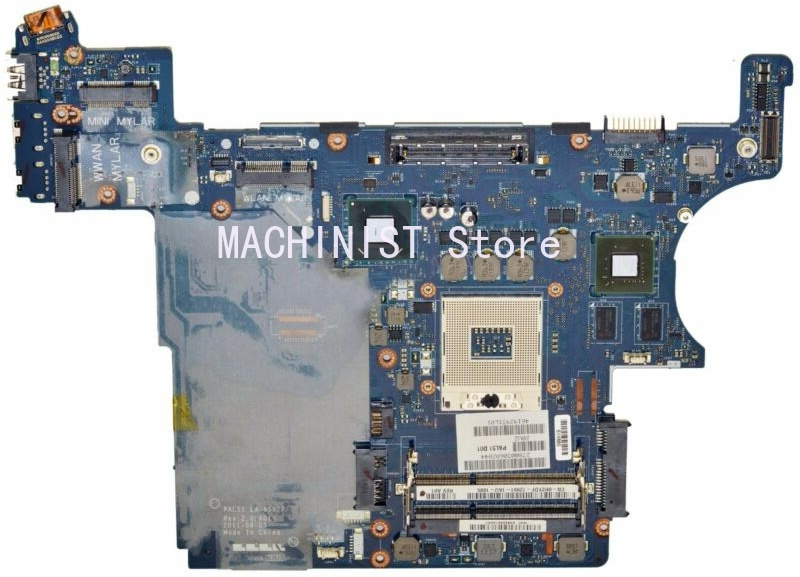 E6420 motherboard LA-6592P DDR3 QM67 PAL51 For DELL E6420 Laptop Motherboard tested 100% work