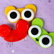 Trendy Big eyes of Animals lovely cute Design Contact Lens Box Case Set 1pcs CN(China)