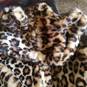 Image 3 - 2019 Winter Infant Baby Girl Clothes Faux Fur Coat Warm Kids Jacket Xmas Snowsuit Leopard Print Outerwear Cotton padded Children