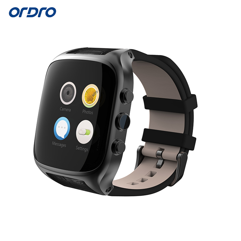 Ordro SW51 Android font b Smart b font Watch Bluetooth 4 0 RAM 512M ROM 4G