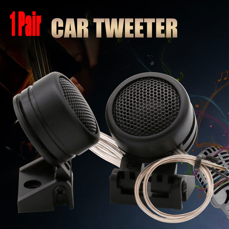 Dome Tweeter Speaker Modified-Horn All-Car-Audio-System Small Mini High-Efficiency 40W