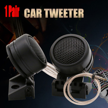 1 Pair 40W High Efficiency Car Mini Dome Tweeter Modified Horn Audio