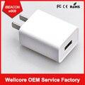 Alta Calidad 110 v-220 v de la Energía Sin Fin W909 Ibeacon ibeacon con NRF52832 Chipset con LA UE y EE.UU. Plug