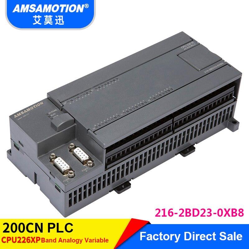Amsamotion CPU226 6ES7 216-2BD23-0XB8 Relay PLC 24I/16O 6ES7 216-2AD23-0XB8 Transistor PLC