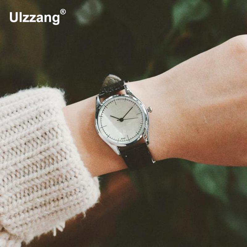 Fashion Ladies Casual Quartz Watches Luxury Women Dress Watch Sexy Slim Leather Straps Simple Dial Leather Band Lady Wristwatch