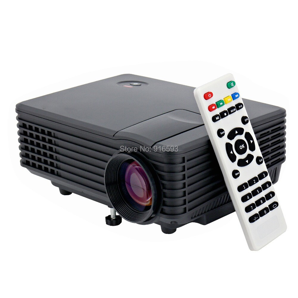 800 Lumens Portable RD-805 Mini LED Multimedia Home Theater Projectors USB HDMI