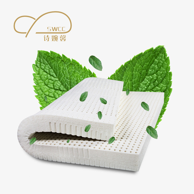 Natural Latex Mattress Thickness 5and7.5 cm Folding Soft Mattress The Most Enjoyable Mattress You Will Never Regret Buy It