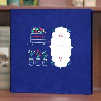 Large Size 3-8 inch Photo Album Baby Family Scrapbook Albums Wedding Foto High Quality Handmade DIY Creative Gift 17