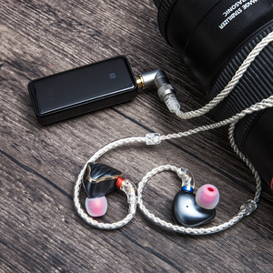 Image 5 - Fiio LC 3.5BS 2.5bs cabo curto de alta pureza cobre chapeado prata padrão mmcx 3.5mm para shure/fiio btr5/btr3/fh7/f9 fones de ouvido