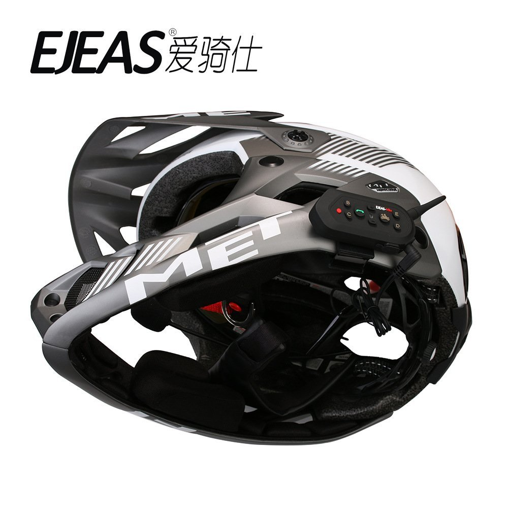 E6 Direct Factory Hands Free Interphone Bluetooth Motorbike Motorcycle Intercom Helmet Headset 5PCS/Package lexin 2pcs max2 motorcycle bluetooth helmet intercommunicador wireless bt moto waterproof interphone intercom headsets