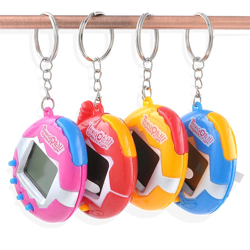 MINOCOOL Digital Pet Electronic Digital 49 E-pet Retro Funny Toy Handheld Game Machine Tamagochi Toy Game Gift