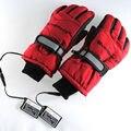 3.7 V/2000 MAH Guantes de Calefacción Eléctrica, Deporte Al Aire Libre de Esquí de La Motocicleta Batería de Litio Auto Climatizada, Guantes Calientes 3 horas