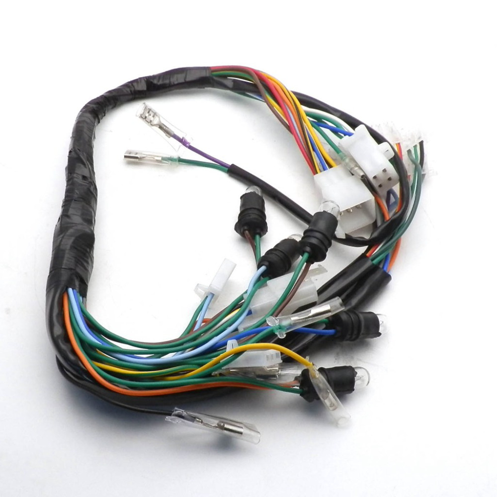 CHINESE GY6 150CC WIRE HARNESS WIRING ASSEMBLY SCOOTER MOPED for 11 ...