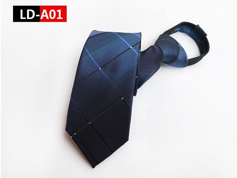 VEEKTIE Zipper 8cm Business Necktie for Man Lazy Mens Tie Easy To Pull Rope Neckwear Wedding Party Work Cravate Vestidos in Men 39 s Ties amp Handkerchiefs from Apparel Accessories
