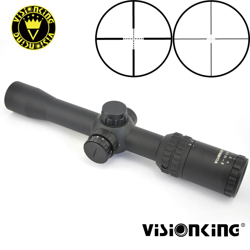 Visionking 2-10x32 FFP Riflescope Laser illuminated Night Hunting Aim Optical Sight First Focal Plane Tactical Scope .223 .308
