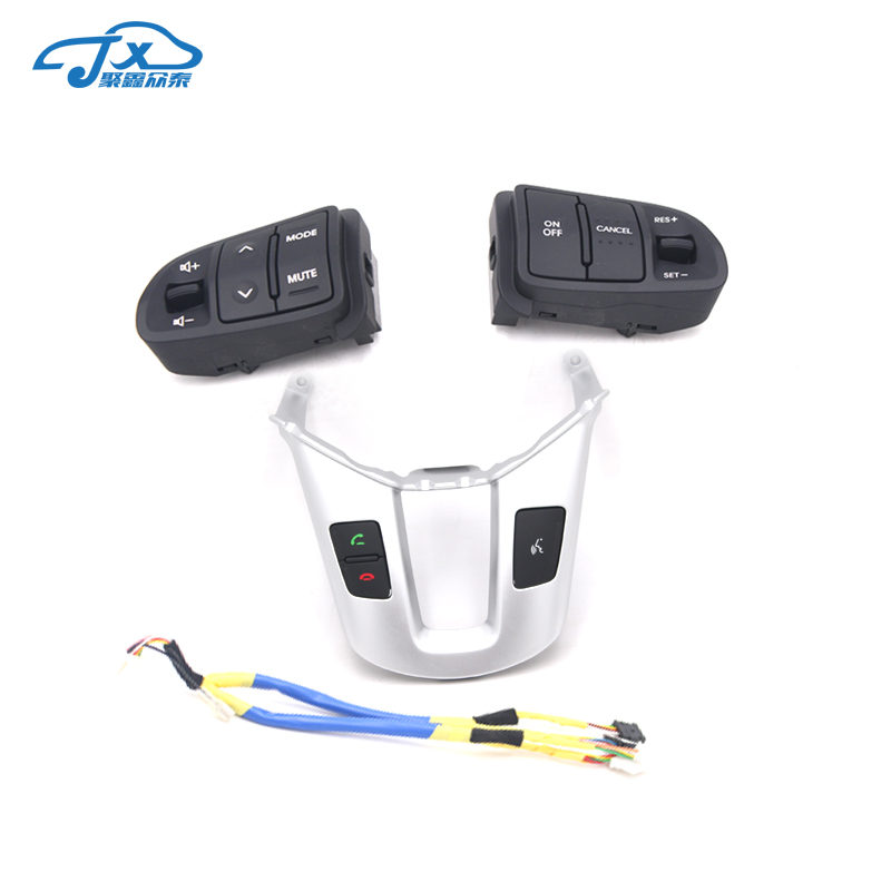 Multi function Steering <font><b>Wheel</b></font> Audio Cruise Control Buttons For <font><b>Kia</b></font> <font><b>sportage</b></font> SL with back light <font><b>Car</b></font> charge image