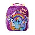 2017 Rainbow children cartoon my little pony schoolbag girl lovely backpack schoolbag For children children Christmas gift bags