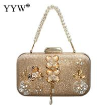 Vintage Style Evening Bag Sequined Handmade Beaded Party Handbag Glitter Clutch Purse Totes Crossbady Women Messenger Bags day clutches elegant lady messenger bags for women clutch evening bag casual party purse beaded wedding handbag zh b0321