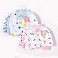 3 pçs/lote Chapéus Luvable Amigos Do Bebê Rosa/Azul Estrela Impresso Bebê Hats & Caps para o Bebê Recém-nascido Acessórios