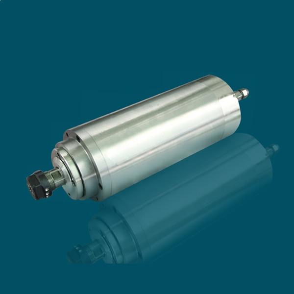 Husillo de fresado de metal de potencia constante 2.2kw D100mm 380V motor de husillo con 4 cojinetes de cerámica