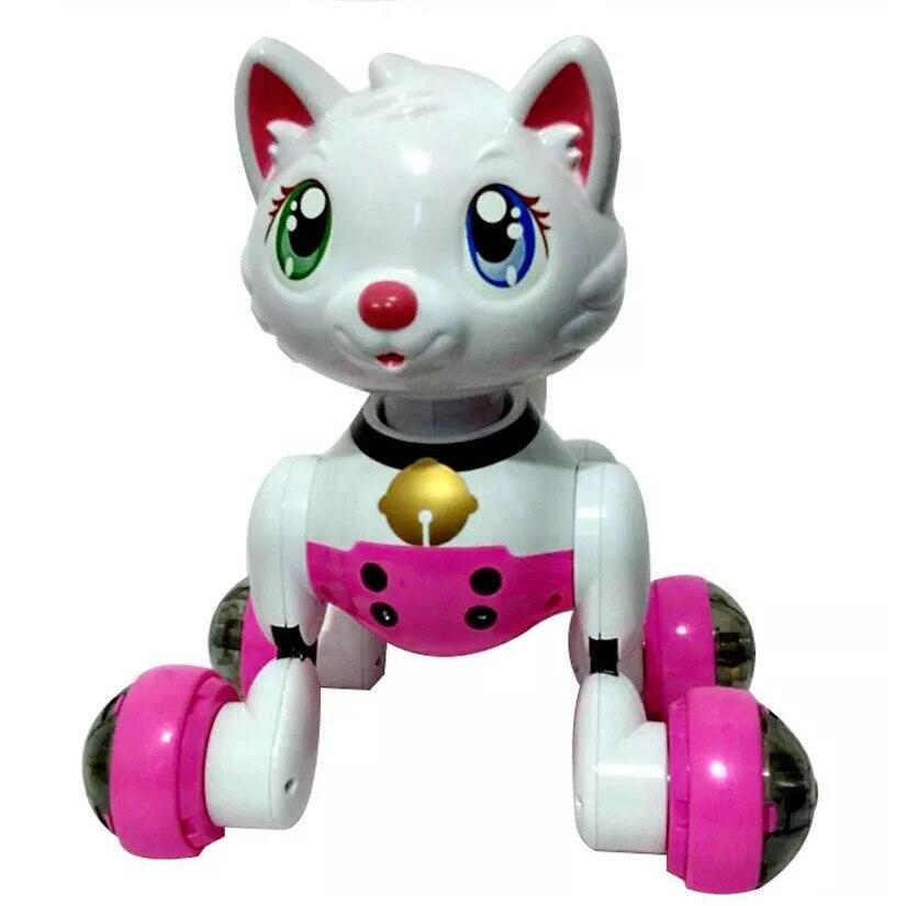 Youdi commande vocale chien et chat Robot intelligent électronique pour animaux de compagnie programme interactif danse marche Robot jouet Animal geste suivant - 5