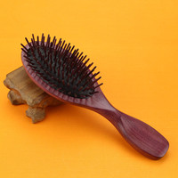 Hot sale rosewood Styling Tools wood Combs Air bag Detangling Airbag Brush Detangle Healthy Care Massage Antistatic Hairbrush