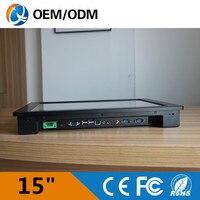 Embedded PC 15 Intel I5 3337U 1 9GHz 2gb Ddr3 32g Ssd Industrial Panel Pc Touch