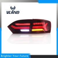 Newest Type 2pcs Car Tail Light For VW Jetta Sagitar LED Tail Light 2012 2013 2014