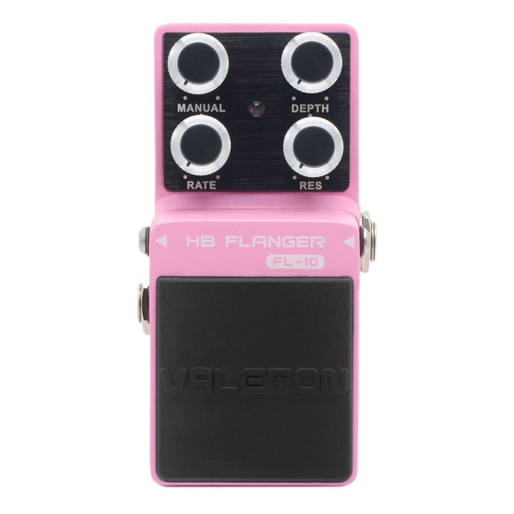 Valeton HB Flanger Guitar Effect Hf Band Pedal Bright Tone Buffer Bypass FL-10 valeton katfish guitar effect auto wah pedal highly accurate pristine tone true bypass caw 1