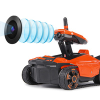 Professional 1 Set 2.4G RC For Spy Tank Robot With Real Time Image Transmission HD Camera Orange