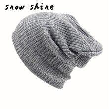 Snowshine #5003 männer Frauen Beanie Stricken mode Kappe Hip-Hop Winter Warm Unisex Wollmütze kostenloser versand